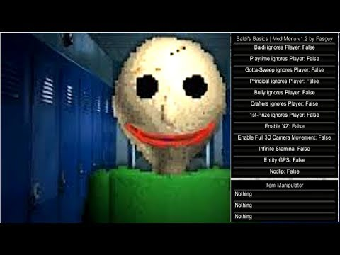 HACK MOD!! Baldi's Basics In Education And Learning
