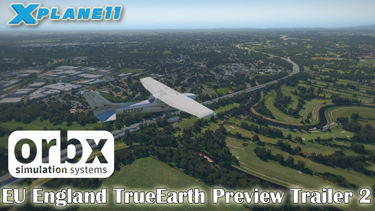 Orbx EU England TrueEarth Previews - XP11 Scenery - X-Plane