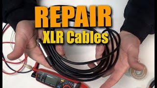 XLR Audio Cable Repair : How To