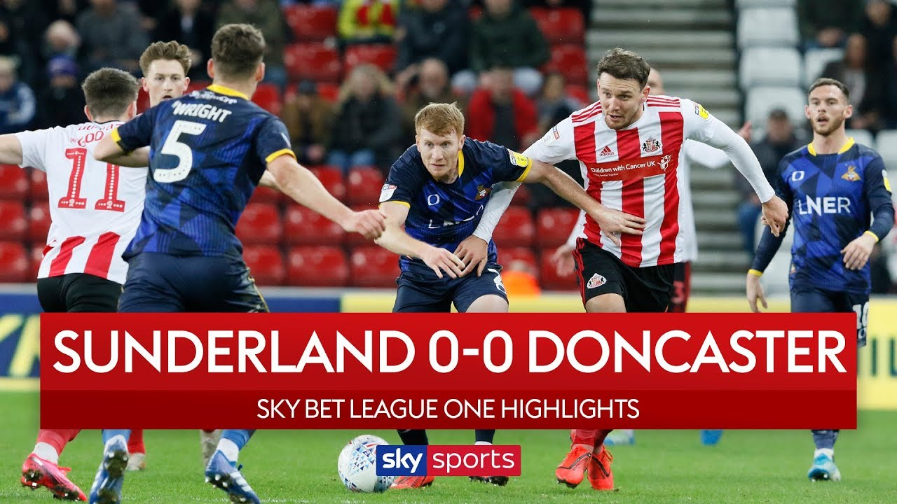Sunderland move to 5th after draw | Sunderland 0-0 Doncaster | EFL Highlights