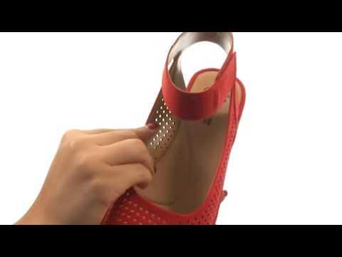87ac90ec3251 Clarks Women s Reedly Salene Wedge Sandal - YouTube