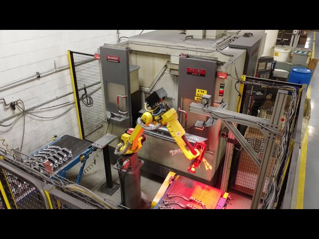CWM's FANUC M-10iA Robot from the CNC Department