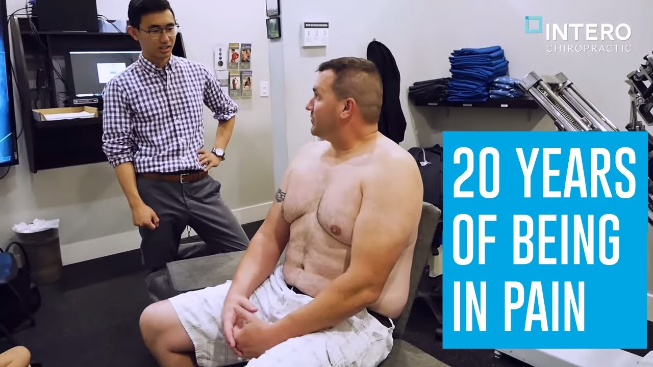 20 Years of SCIATICA, NECK AND BACK PAINS | CHRONIC PAIN Helped at Intero Chiropractic