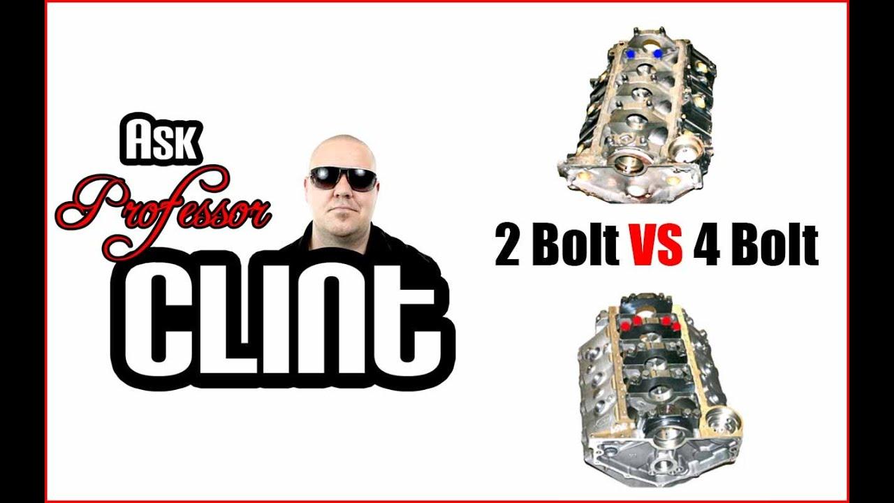 2 bolt vs 4 bolt ask professor clint never done youtube. Black Bedroom Furniture Sets. Home Design Ideas