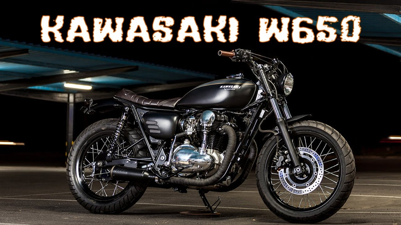 kawasaki w650 custom youtube. Black Bedroom Furniture Sets. Home Design Ideas