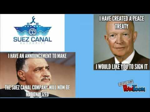 Suez Canal Crisis of 1956