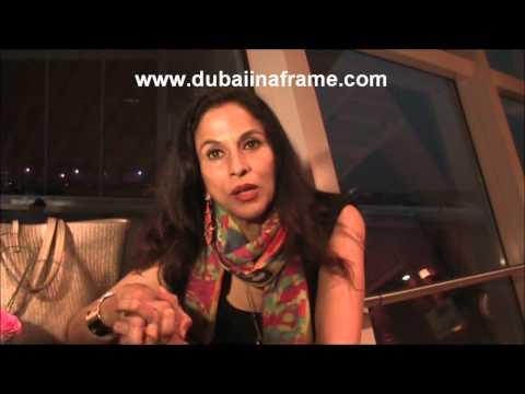Shobhaa De interview in Dubai