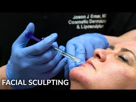 Watch Her Getting Facial Sculpting For First Time | Contouring Lips, Cheeks & Chin With Fillers