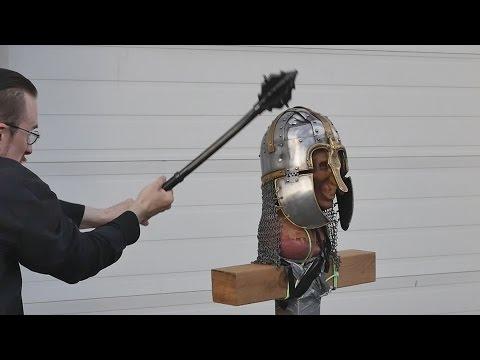 helmet-tests,-part-4---unexpected-weapon-failure!-(vs.-anglo-saxon-helmet)