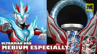 DX Orb Ring. Mebium Especially ! Cards : Ultraman Ginga + Ultraman ...