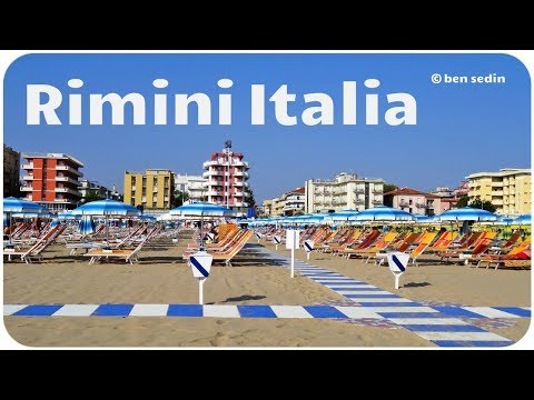 Rimini, Italia (Full HD)