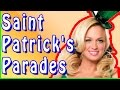 2015 St Patrick's Day Parade. Compilation of traditional celebrations on the St Patrick's Day