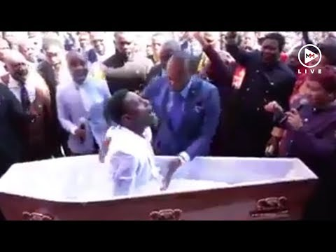 Mzansi shooketh after video of pastor bringing 'dead man' back to life goes viral