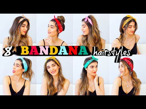 8 TRENDY BANDANA HAIRSTYLES FOR SUMMER   How to Style Bandanas
