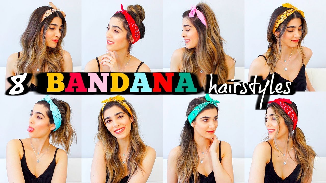 Bandana Hair Style: 8 TRENDY BANDANA HAIRSTYLES FOR SUMMER