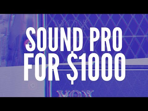 A Pro Sounding Worship Electric Guitar Rig for $1,000?