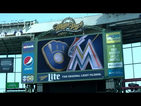 Brewers make Miller Park feel like home for Miami Marlins