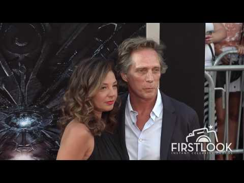 William Fichtner, Kymberly Kalil at Independence Day  Resurgence LA premiere