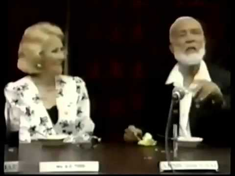 Ahmed Deedat with Durban Business and Professional Women.