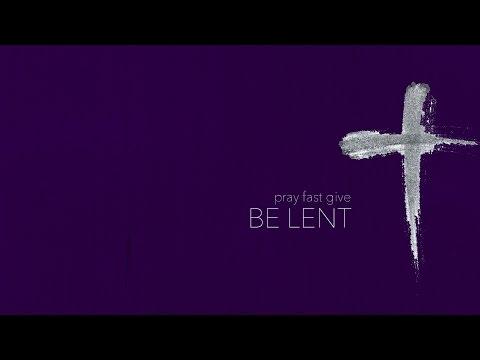 """Be Lent - """"Almsgiving"""""""