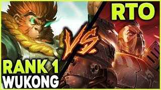 Download #1 WUKONG VS. RTO (ON DARIUS) | WHY ONE TRICKING CAN SUCK! - League of Legends Mp3 and Videos