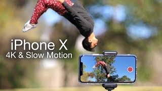 iPhone X Video Camera Footage