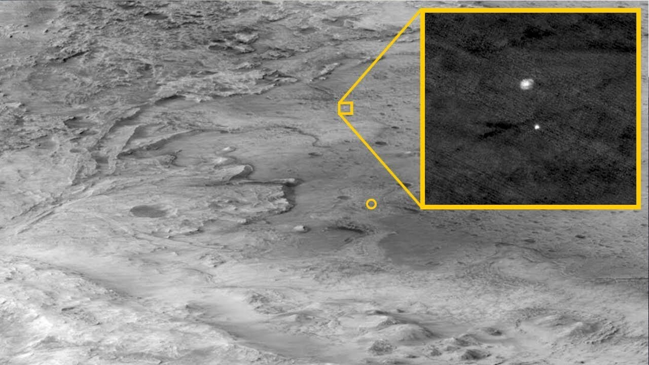 First Images of Mars Are Sent to Earth from NASA's Perseverance Rover!
