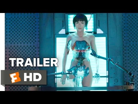Ghost in the Shell Official Trailer 1 (2017) - Scarlett Joha