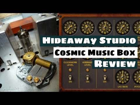 Hideaway Studio The Cosmic Music Box For Kontakt 5 Hands-On Review | SYNTH ANATOMY