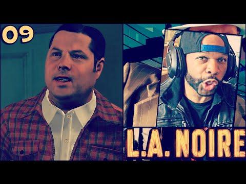 LA Noire Gameplay Walkthrough Part 9 - Grown Man Lil' Burnt Shoes (The Golden Butterfly)