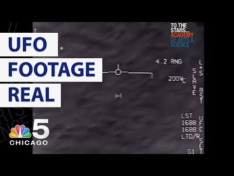 Navy Confirms UFO Videos Posted by Tom DeLonge  Are Real   NBC Chicago