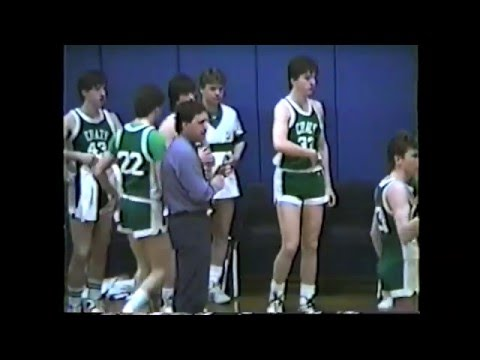 Chazy - Willsboro Boys Section VII D Semi Final  3-2-88