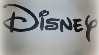 How to Draw the Disney Logo | Logo Drawing