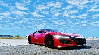 ► GTA 6 Graphics - 2016 Honda NSX (NC1) ✪ Ultra Realistic Graphic  👍 GTA 5 MOD PC - 60 FPS