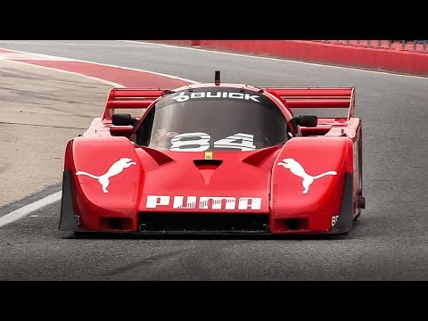 Group C Racing At Imola Circuit: Porsche 956, Jaguar XJR-11, Alba Buick Turbo, Nissan R90CK
