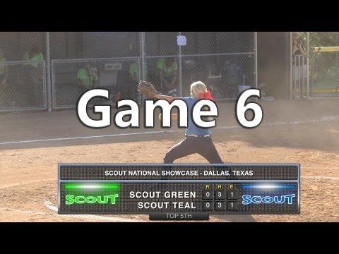 Scout National Showcase - Dallas, TX - 6/12/2013 - Game #6