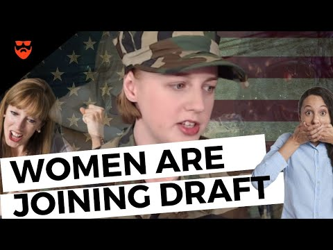 YOUNG Women Are FACING The DRAFT