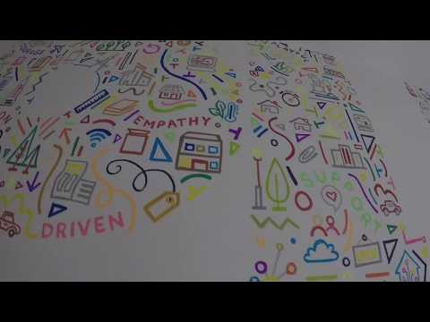Painting an Office Mural How To Video