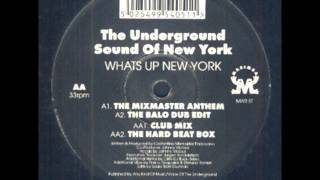 The Underground Sound Of New York - What