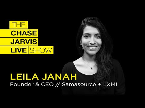 How What You Buy Can Change The World w/ Leila Janah | Chase Jarvis LIVE