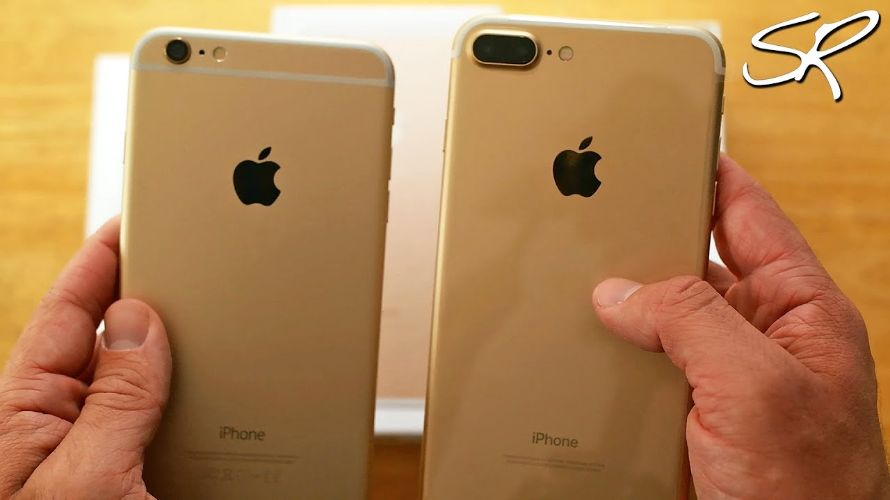 iphone 7 plus gold unboxing hands on first impressions. Black Bedroom Furniture Sets. Home Design Ideas