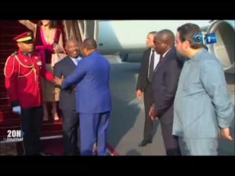 Arrivée définitive à Libreville du chef de l'Etat Ali Bongo Ondimba et son épouse Sylvia Ondimba