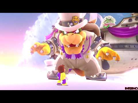 Super Mario Odyssey - Part 5 - Lost Kingdom - Boss: Bowser 1