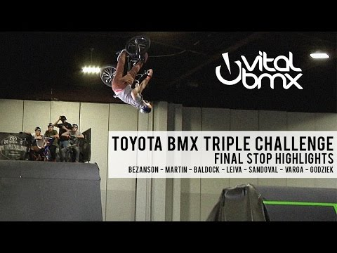 Jumping Insanity at Toyota BMX Triple Challenge Finals