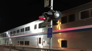 4K | Amtrak Coast Starlight 11 in Burbank ft. Great K5LA Action!