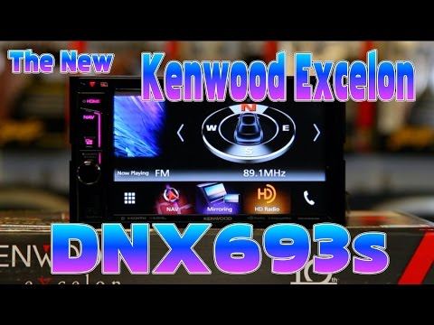 Kenwood Excelon's new 2016 DNX693s multimedia navigation radio