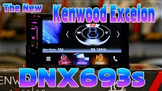 Kenwood Excelon's new 2016 DNX693s multimedia navigation radio