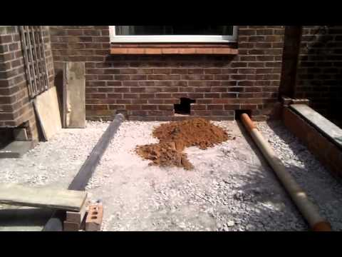 Floor Drains And Insulation To A Home Extension Youtube