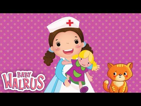 Miss Polly had a Dolly   Nursery Rhymes by Zouzounia TV