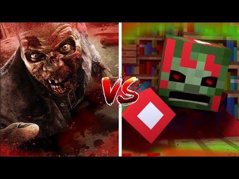 Minecraft vs Real Life: How to Kill Zombies! (Minecraft Animation)
